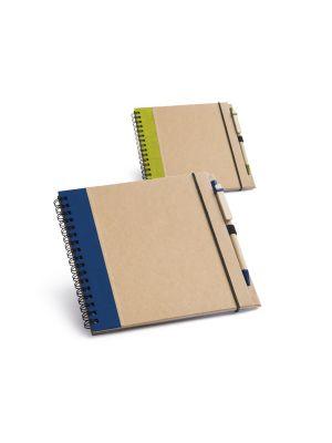 Libretas sin anillas plath de cartón ecológico con impresión vista 1