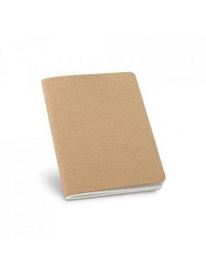 Libretas sin anillas bulfinch de cartón ecológico con impresión vista 2