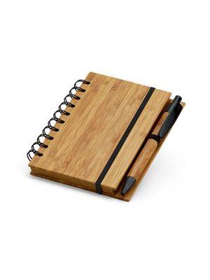 Cuadernos con anillas dickens de bambú ecológico para personalizar imagen 2