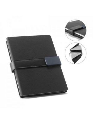 Libretas sin anillas branve dynamic notebook de polipiel para personalizar vista 8