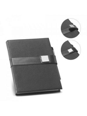 Libretas sin anillas branve empire notebook con logo vista 4