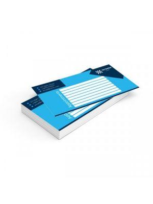Tarjetas de visita couché mate 350gm2 impresión una cara esquinas redondas de papel para personalizar vista 1