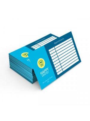 Tarjetas de visita mini couché mate 350gm2 plastificado brillo doble cara de papel para personalizar vista 1