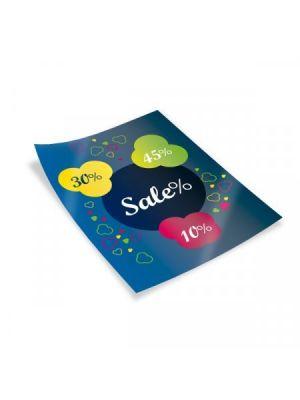 Flyers flyers a4 couché brillo 350gm2 impresión una cara de papel para personalizar vista 1
