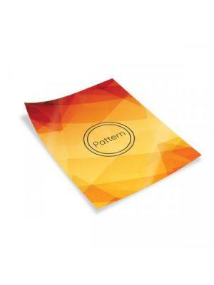 Flyers flyers a6 couché brillo 350gm2 plastificado mate frente de papel para personalizar imagen 1