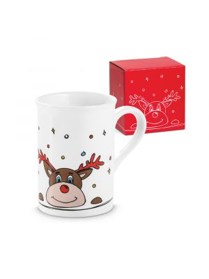 Navidad vail. taza de cerámica con publicidad vista 3