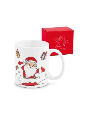 Navidad avoriaz. taza de cerámica vista 3