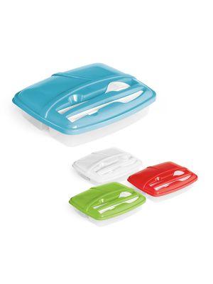 Fiambreras mattie de plástico con logo imagen 1