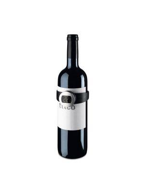 Accesorios vino dabney. termómetro digital para vino de metal con logo vista 1