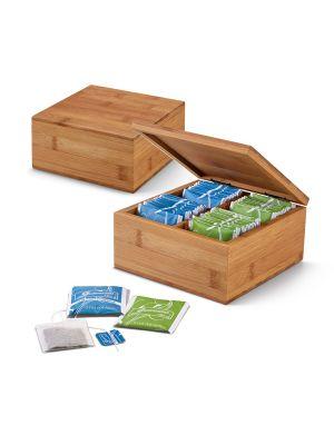 Decoración arnica. caja de infusiones de bambú ecológico para personalizar imagen 2