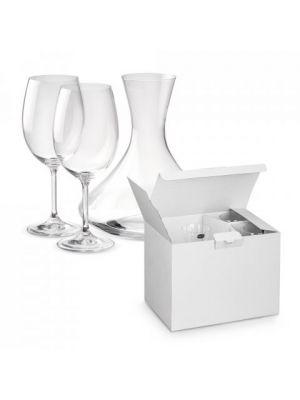 Sets de vino bordeaux con publicidad imagen 2