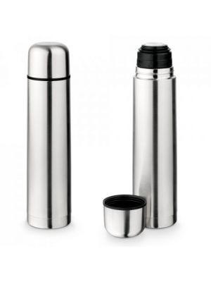 Termos liter de metal con logo imagen 2