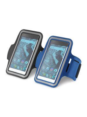 Complementos deportivos confor. brazalete para smartphone de poliéster con publicidad imagen 2