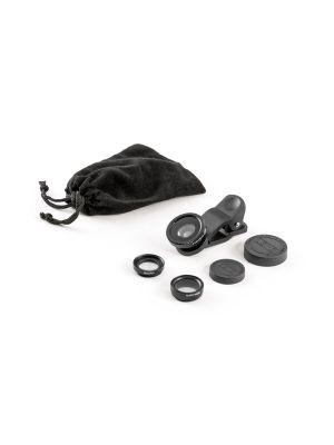 Accesorios cámara móvil hilbert. set de mini lentes universales de plástico vista 1