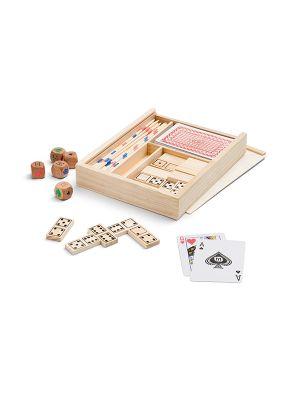 Barajas y juegos de mesa playtime. set de juegos 4 en 1 para personalizar imagen 2