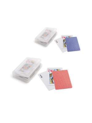 Aniversarios johan. baraja de 54 cartas de papel con logo imagen 2