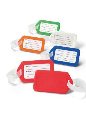 Identificadores de maletas findo de plástico para personalizar imagen 2