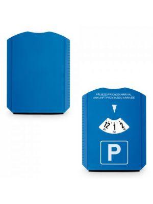 Automóvil laurien. disco de estacionamiento con logo vista 3