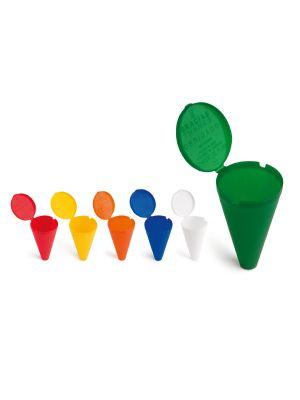 Ceniceros senegal de plástico con logo vista 1