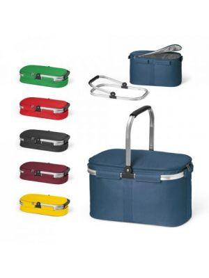 Picnic baskit. cesta de picnic de poliéster con publicidad vista 11