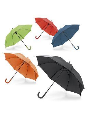 Paraguas clásicos michael de poliéster con publicidad vista 1
