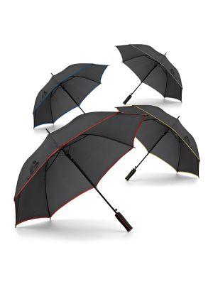 Paraguas clásicos jenna de poliéster con logo imagen 2