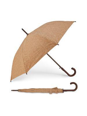 Paraguas clásicos sobral de corcho ecológico con publicidad imagen 2