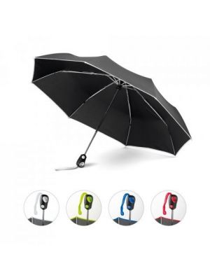 Paraguas plegables drizzle de plástico con publicidad imagen 6
