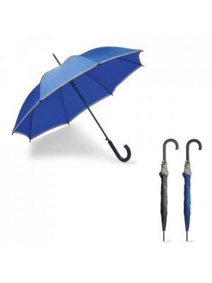 Paraguas clásicos megan de poliéster con logo imagen 5
