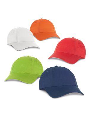 Gorras miuccia de poliéster con publicidad vista 1