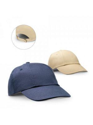 Gorras serigrafiadas rado de 100% algodón con impresión vista 5