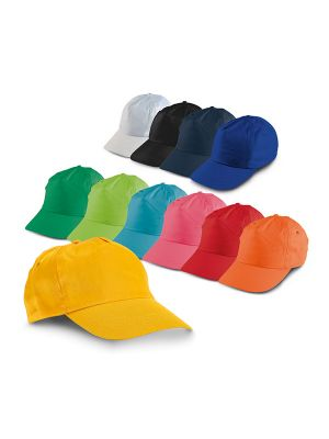 Gorras publicitarias campbel de poliéster con impresión imagen 1
