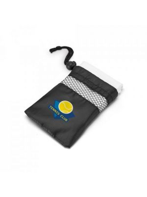 Toallas deporte travis de microfibra con logo imagen 2