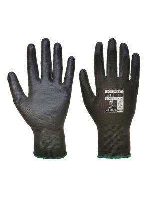 Guantes de trabajo con palma de pu (pack de 12) para personalizar vista 1