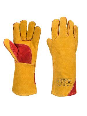 Guantes de trabajo reforzado de soldador para invierno vista 1