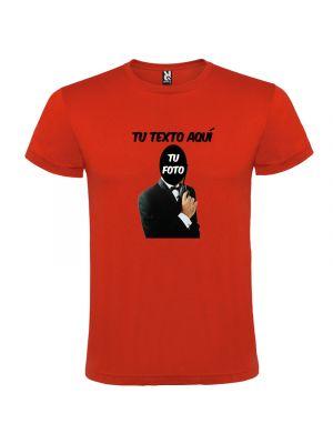 Camisetas despedida hombre despedida agente secreto 100% algodón vista 1