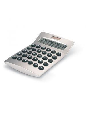 Calculadoras basics de plástico con logo vista 1