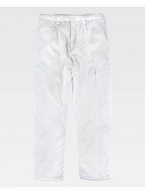 Pantalones de hostelería workteam b1410 de poliéster para personalizar vista 2
