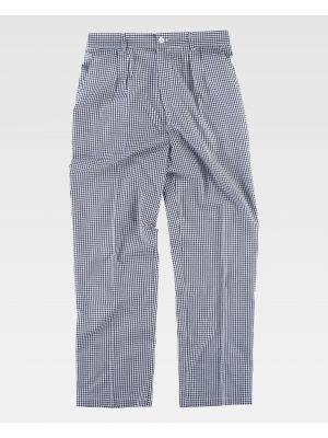 Pantalones de hostelería workteam b1425 de poliéster imagen 2