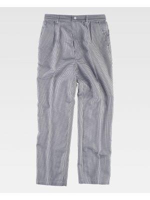 Pantalones de hostelería workteam b1426 de poliéster imagen 2
