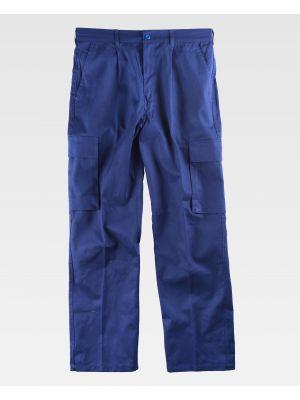 Pantalones de trabajo workteam b1456 de 100% algodón vista 2