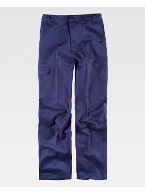 Pantalones de trabajo workteam b1457 de 100% algodón imagen 2