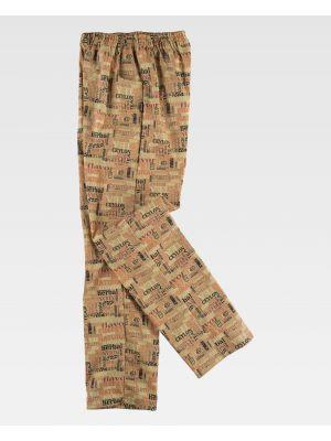 Pantalones de hostelería workteam b1503 de poliéster vista 2
