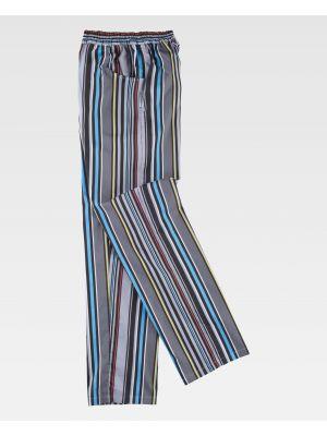 Pantalones de hostelería workteam b1508 de poliéster imagen 2