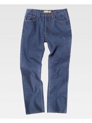 Pantalones de trabajo workteam b4003 de poliéster para personalizar vista 2