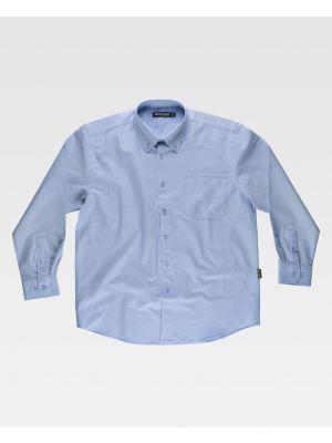 Camisas de trabajo workteam sport en tejido oxford vista 1