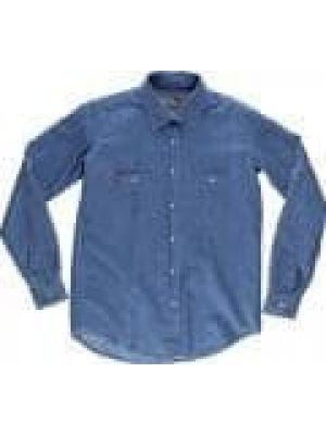 Camisas de trabajo workteam basic industrial mujer para personalizar vista 1