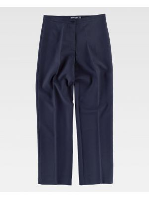 Pantalones de trabajo workteam b9016 de poliéster imagen 2