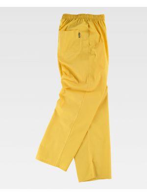Pantalones de trabajo workteam b9300 de poliéster imagen 2