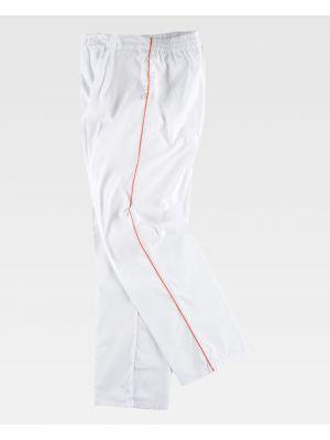 Pantalones de trabajo workteam b9350 de poliéster para personalizar vista 2